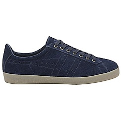 Gola - Navy Suede 'Tourist' mens trainers