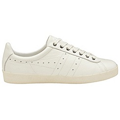 Gola - Off White 'Tourist Leather' mens trainers