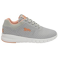 Lonsdale - Cool grey peach 'Tydro' trainers