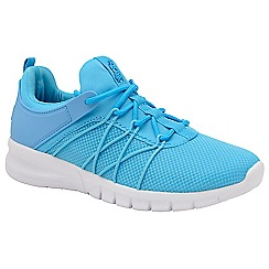 Lonsdale - Light blue and grey 'Epic' ladies lace up trainers