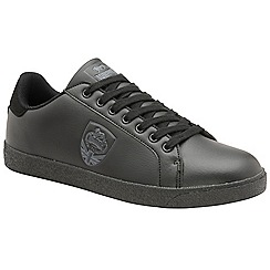 Lonsdale - Black 'Lowton' mens trainers