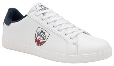 Lonsdale - White 'Lowton' mens trainers