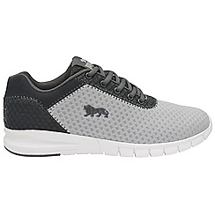 Lonsdale - Grey and charcoal 'Tydro' mens trainers
