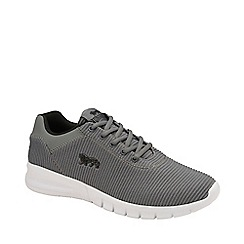 Lonsdale - Grey and Black 'Tydro' Mens Lace Up Trainers