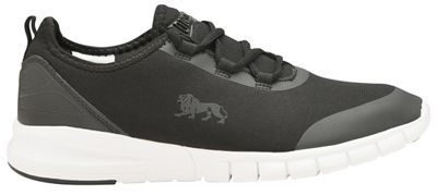 Lonsdale - Black and White 'Zambia' mens lace up trainers