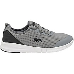 Lonsdale - Grey black 'Zambia' mens trainers