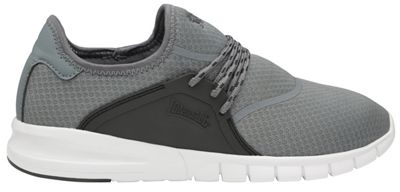 Lonsdale - Grey and black 'Sirius' mens trainers