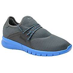 Lonsdale - Grey and blue 'Sirius' mens trainers