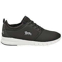 Lonsdale - Black grey 'Propus' ladies trainers