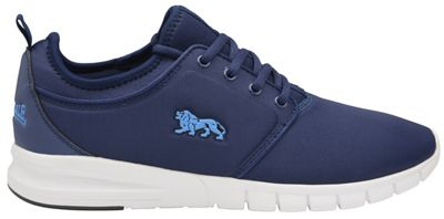 Lonsdale - Navy and blue 'Propus' mens trainers