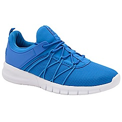 Lonsdale - Blue and white 'Epic' mens lace up trainers