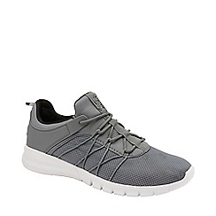 Lonsdale - Grey and Black 'Epic' Mens Lace Up Trainers