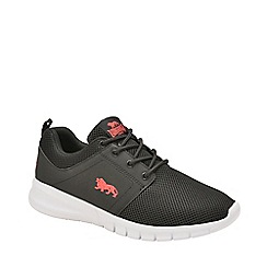 Lonsdale - Black, Red and White 'Sivas 2' Mens Trainers