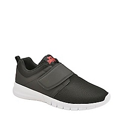 Lonsdale - Black, Red and White 'Sivas 2 Qf' Mens Trainers