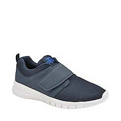 Lonsdale - Navy, Blue and White 'Sivas 2 Qf' Mens Trainers