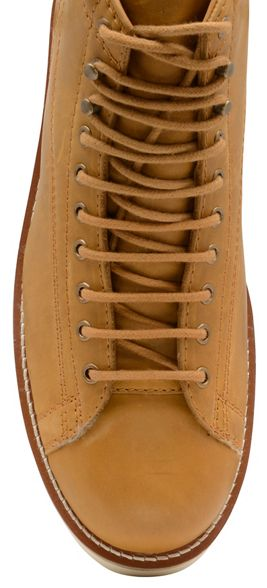 Tan boots up Wright ecru 'Negan' Frank lace leather 57fqq