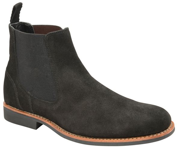 'Hopper' on Frank slip boots chelsea suede Wright Black qwSFgE