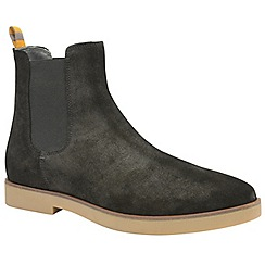 Frank Wright - Black 'Dutch' men's casual chelsea boots