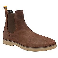 Frank Wright - Brunette 'Dutch' men's casual chelsea boots