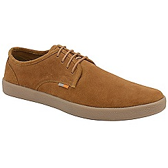 Frank Wright - Rust 'Lomond' lace up suede shoes