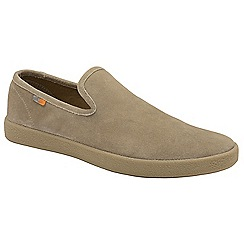 Frank Wright - Sand 'Ness' slip on casual shoes