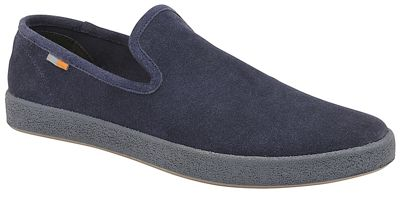Frank Wright - Navy 'Ness' slip on casual shoes