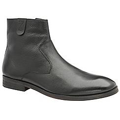 Frank Wright - Black 'Edison' men's slip on ankle boots