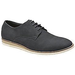 Frank Wright - Navy 'Detroit' lace up casual derby shoes