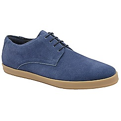 Frank Wright - Ocean Blue 'Chiefs' lace up derby shoes