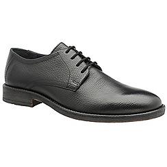Frank Wright - Black 'Alder' men's lace up derby shoes