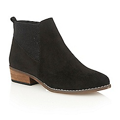 Dolcis - Black 'Janet' heeled ankle boots