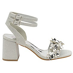 Dolcis - Silver 'Niamh' ladies high heeled sandals
