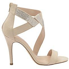 Dolcis - Nude 'Victoria' ladies strappy stiletto sandals
