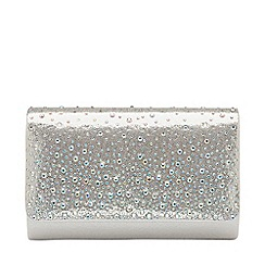 Ravel - Silver 'Myers' clutch bag