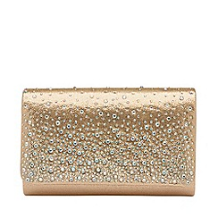 Ravel - Rose gold 'Myers' clutch bag