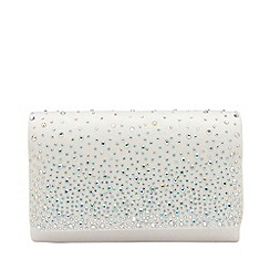 Ravel - White 'Myers' clutch bag