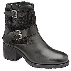 Ravel - Black 'Keswick' heeled ankle boots