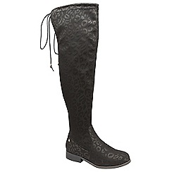 Ravel - Black 'Hartford' knee high boots
