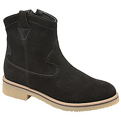 Ravel - Black 'Grayling' zip up ankle boots