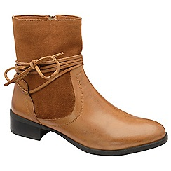 Ravel - Tan 'Marshall' ankle boots