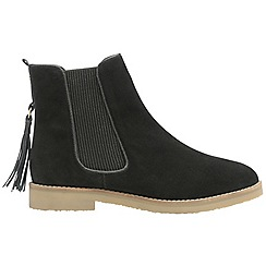 Ravel - Black 'Tarrant' ladies chelsea ankle boots