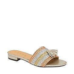 0c2f8d32dc6 Ravel - Metallic  Dania  multi-coloured slider sandals