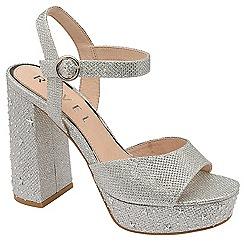 Ravel - Silver 'Delray' platform heel sandals