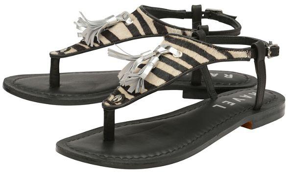 sandals Ravel 'Hurst' Black and post ladies toe zebra awB6aqS