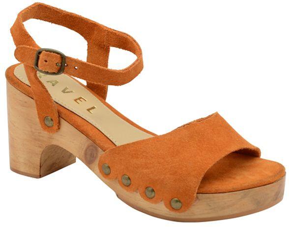 on 'Nicolet' sandals platform ladies slip Ravel Tumeric pIwxgq5H