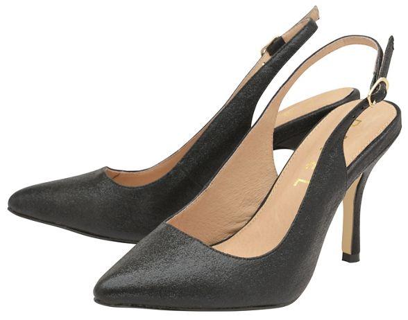 Ravel shoes ladies heeled sling back high Black 'Wilton' Aq8rwfA