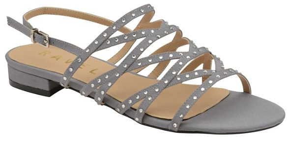 toe ladies 'Hanna' strappy Ravel sandals open Pewter qHOwOpZ