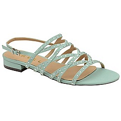 Ravel - Mint 'Hanna' ladies strappy open toe sandals