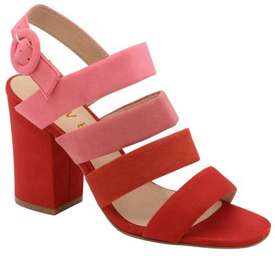f6df2e7069b Ravel Red  Stavely  ladies strappy block heeled sandals