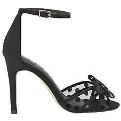 Ravel - Black 'Danforth' ladies high heeled court shoes